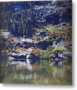 What Lies Before Me Metal Print by Laurie Search