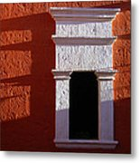 White Window Metal Print by RicardMN Photography