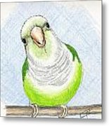 Who Me Metal Print by Laurilee Taylor