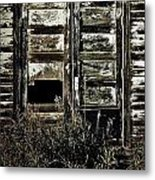 Wild Doors Metal Print by JC Photography and Art