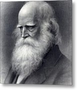 William Cullen Bryant 1794-1878 Was An Metal Print by Everett