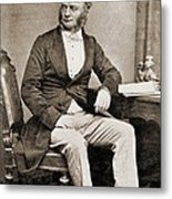 William Fothergill Cooke 1806-1879 Metal Print by Everett