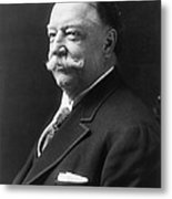 William Howard Taft - President Of The United States Of America Metal Print by International  Images