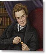 William Wilberforce, British Abolitionist Metal Print by Maria Platt-evans