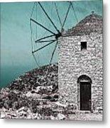 Windmill Metal Print by Joana Kruse