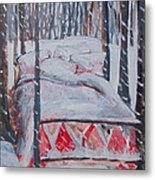 Winter Hybernation Metal Print by Tilly Strauss