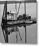 Wiscasset Reflection Metal Print by Catherine Reusch  Daley