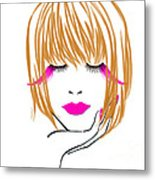 Woman 10 Metal Print by Cheryl Young