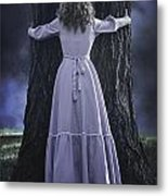 Woman With Trunk Metal Print by Joana Kruse
