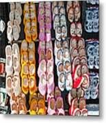 Wooden Shoes  Metal Print by Jim Chamberlain