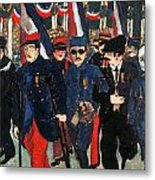 World War I: Veterans Metal Print by Granger