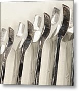 Wrenches Metal Print by Shannon Fagan