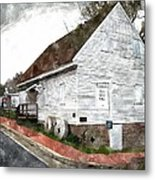 Wye Mill - Water Color Effect Metal Print by Brian Wallace