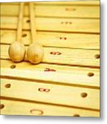 Xylophone Metal Print by Tom Gowanlock