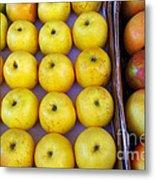 Yellow Apples Metal Print by Carlos Caetano