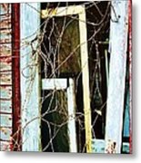 Yellow Door Metal Print by Todd Sherlock