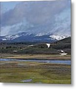 Yellowstone Vista 10 Metal Print by Charles Warren