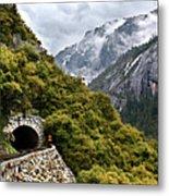 Yosemite Tunnel Metal Print by Jill Buschlen