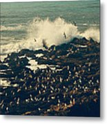 You Came Crashing Into My Heart Metal Print by Laurie Search