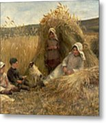 Young Harvesters Metal Print by Lionel Percy Smythe
