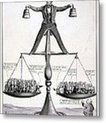 Zachary Taylor, Political Cartoon Metal Print by Everett