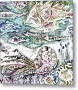 Sea World Metal Print by Milen Litchkov