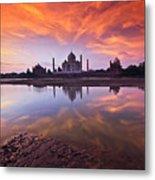 .: The Taj :. Metal Print by Photograph By Ashique