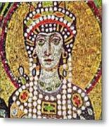 Theodora (c508-548) Metal Print by Granger