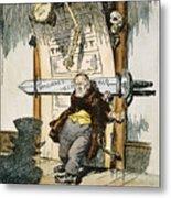 Skeletons Of Malfeasance Metal Print by Granger
