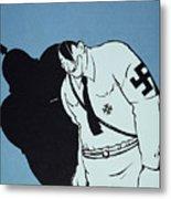 Adolf Hitler Cartoon, 1935 Metal Print by Granger
