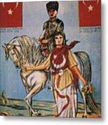 Republic Of Turkey: Poster Metal Print by Granger