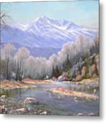 060521-3624  Spring In The Rockies Metal Print by Kenneth Shanika