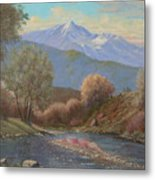 060630-1814  The Land Awakes In Spring   Metal Print by Kenneth Shanika