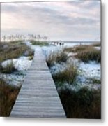 Across The Dunes Metal Print by Julie Dant