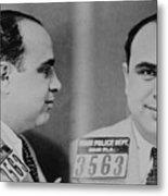 Al Capone 1899-1847, Prohibition Era Metal Print by Everett