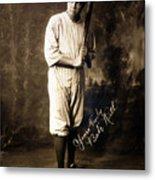 Babe Ruth, 1920 Metal Print by Everett