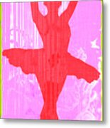 Ballet Dancer Metal Print by David G Paul