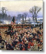 Battle Of Fredericksburg Metal Print by Granger