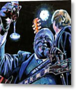 Bb King Metal Print by Chris Benice