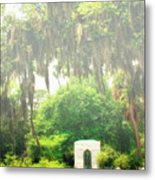Bonaventure Cemetery Savannah Ga Metal Print by William Dey
