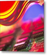 Circuit Board Metal Print by Chris Knapton