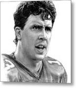 Dan Marino Metal Print by Harry West