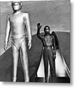 Day The Earth Stood Still Metal Print by Granger