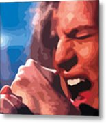 Eddie Vedder Metal Print by Gordon Dean II