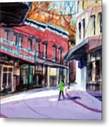 Eureka Springs Ak 4 Metal Print by Ron Stephens