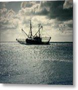 Fishing Boat Metal Print by Joana Kruse
