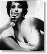 Gina Lollobrigida, Ca. Early 1960s Metal Print by Everett
