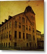 Historic Fox River Mills Metal Print by Joel Witmeyer