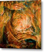 I Cried For You  Metal Print by Nik Helbig