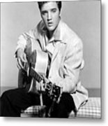 Jailhouse Rock, Elvis Presley, 1957 Metal Print by Everett